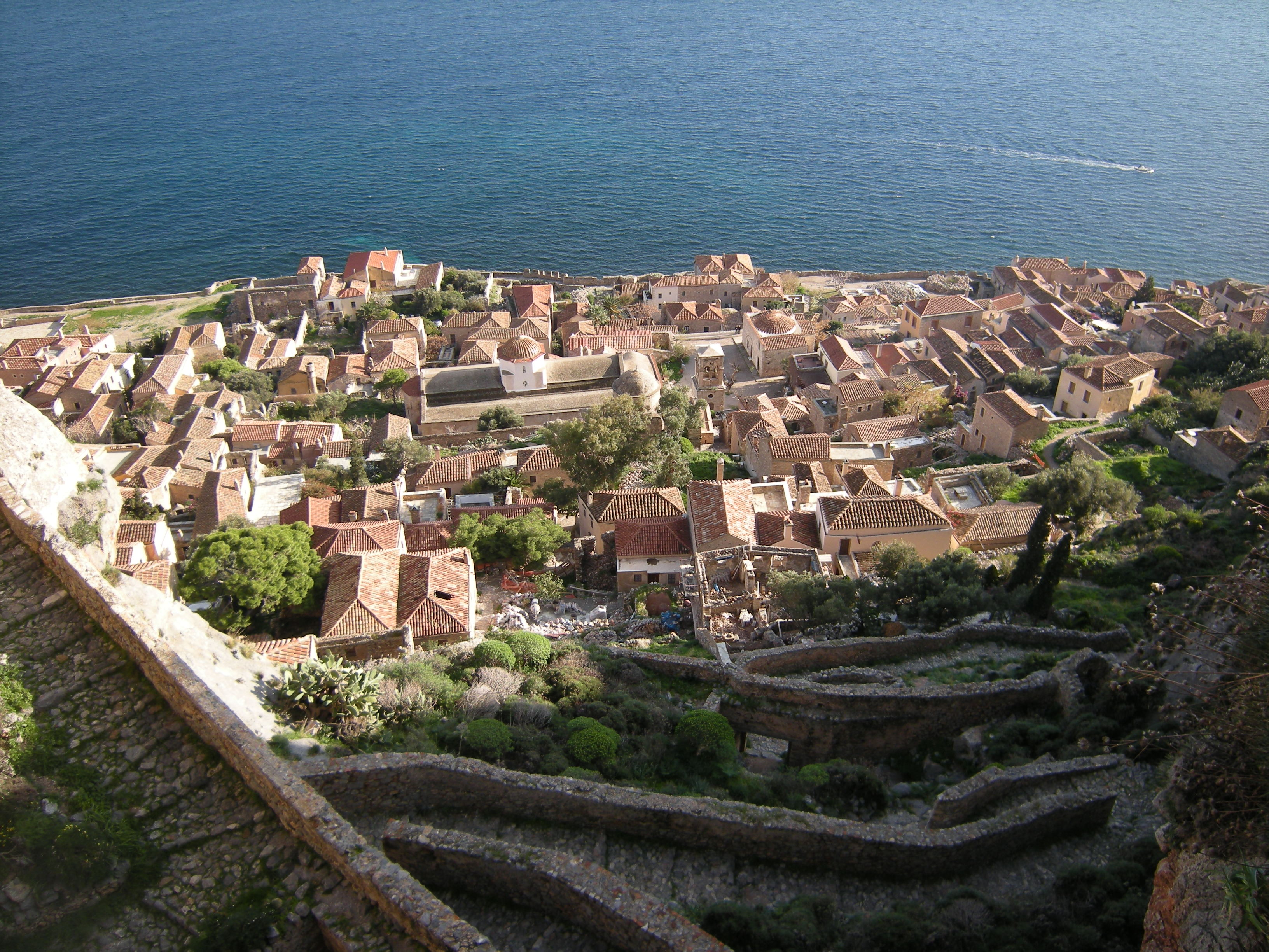 Monemvasia City Fortress