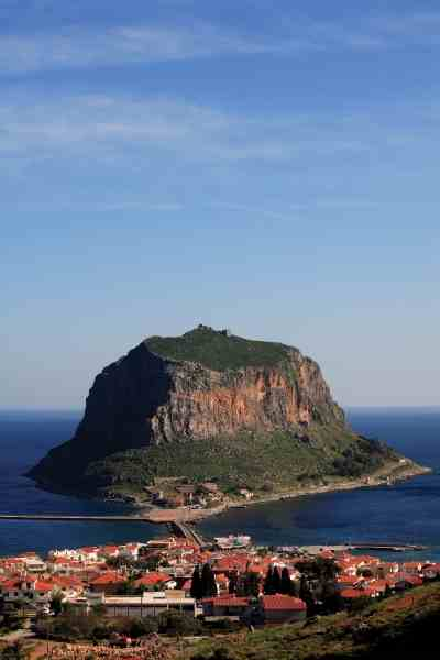 The solid rock of Monemvasia