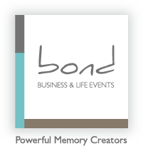 Bond Events planning